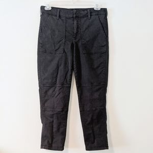 Lucky Brand The Cargo Black Twill Utility Pants